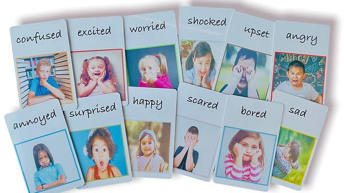 12 Emotion Cards.