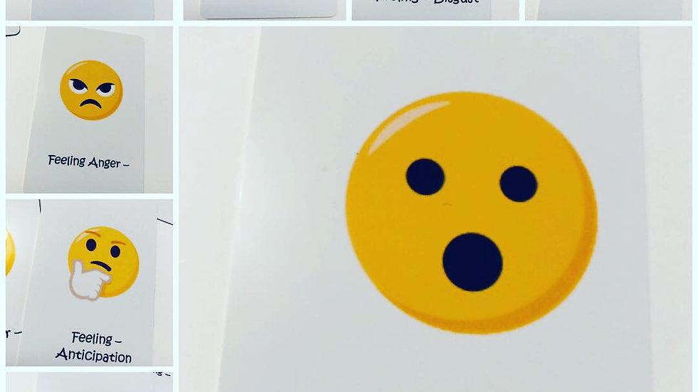 8 Emoji Emotion Cards