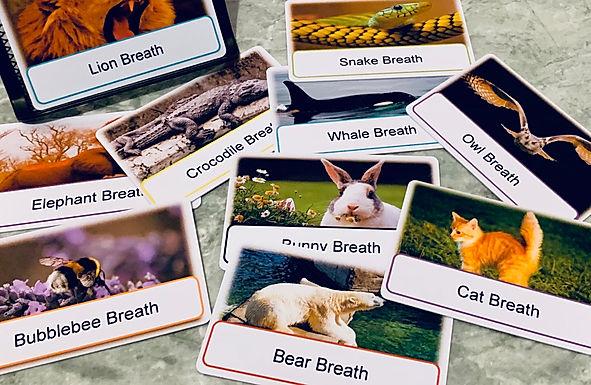 Animal Breath Cards (photo version)