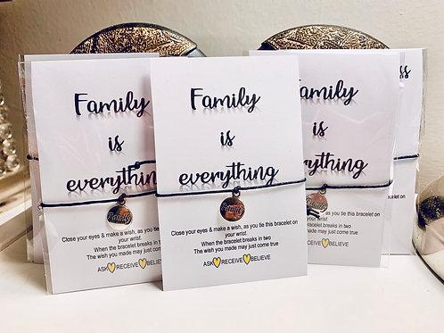 Wish Bracelet ~ Family 🏠