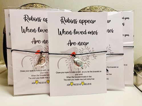 Wish Bracelet~Robin 🐦