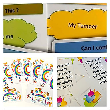 Resource Set 1 - Conversation Cards - What Can I Control - Rainbow Meditation