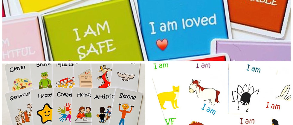 Resource set 3 - calm cards - Animal Strength cards - Character cards