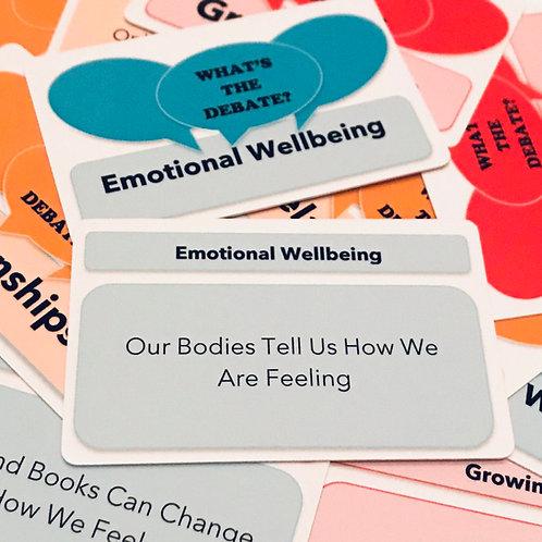 What's The Debate? - Emotional Wellbeing