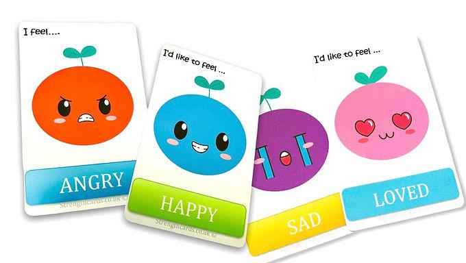 Annie Apple Emotion Cards 🍎 🍏