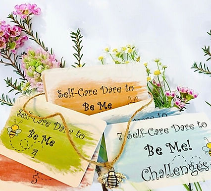 Dare To 'Be Me' 🐝 Self-Care Cards