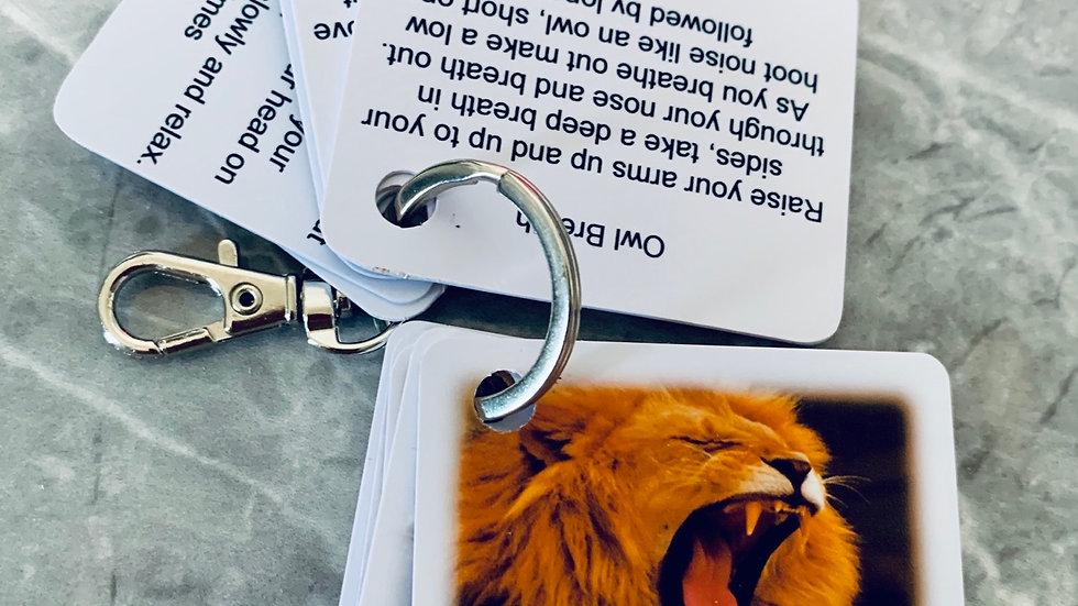 Animal Breath Key Fob ( photo version)