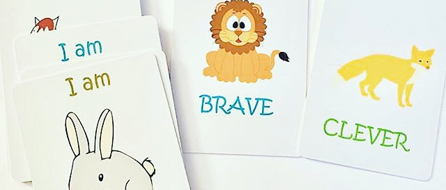 I am ..... Animal strength cards for young children