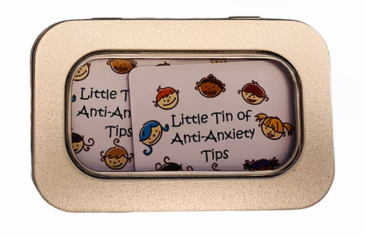 Little Tin of - Anti-Anxiety Tips