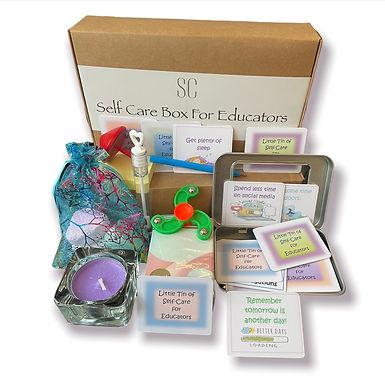 Self Care box for….