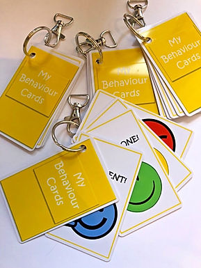 Social stories - Behaviour Zone Cards