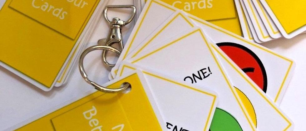 Social stories - Behaviour Zone Cards