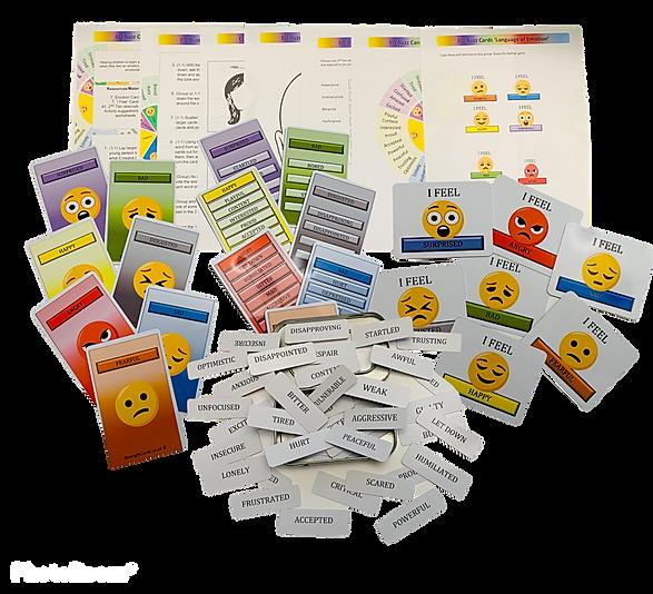 wheel of emotion cards