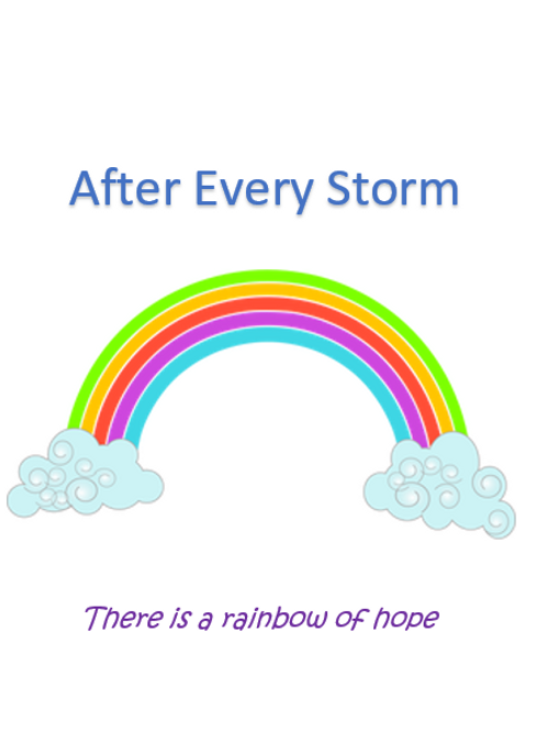 After every storm ~ Wishcard 🌈