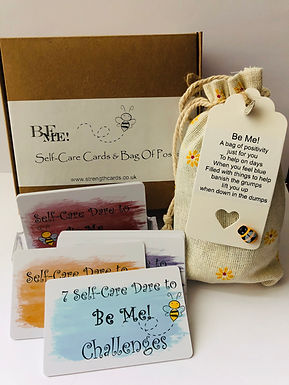 Be Me 🐝 Cards & Bag of Positivity 💜