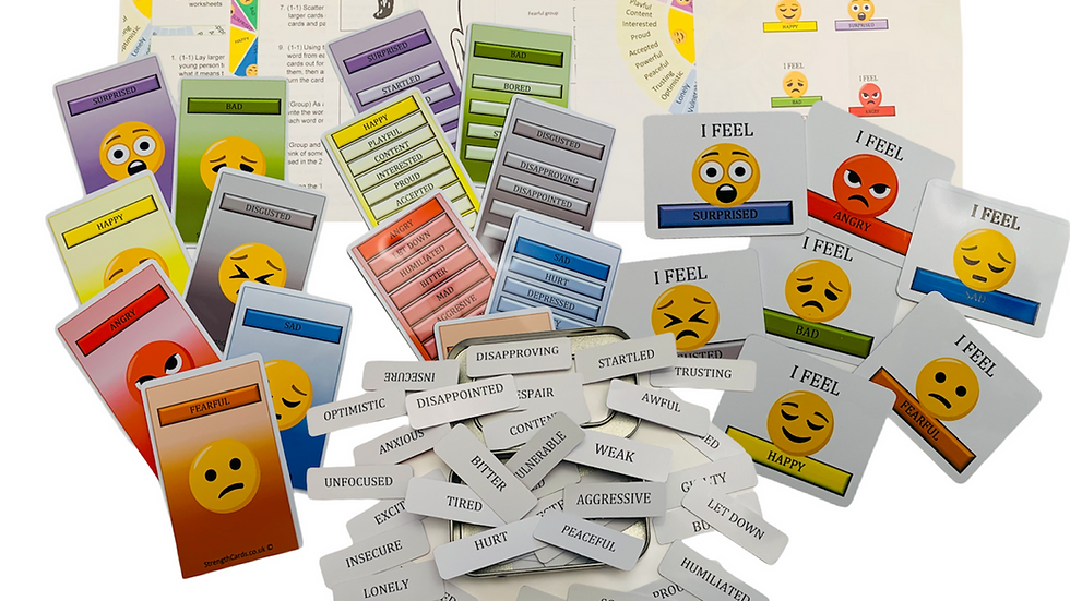 EQ Buzz Cards ~ Language of Emotions