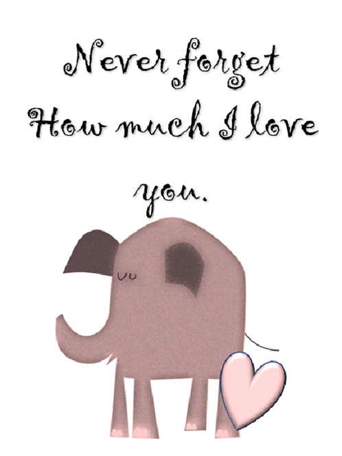 Don't forget ~elephant 🐘