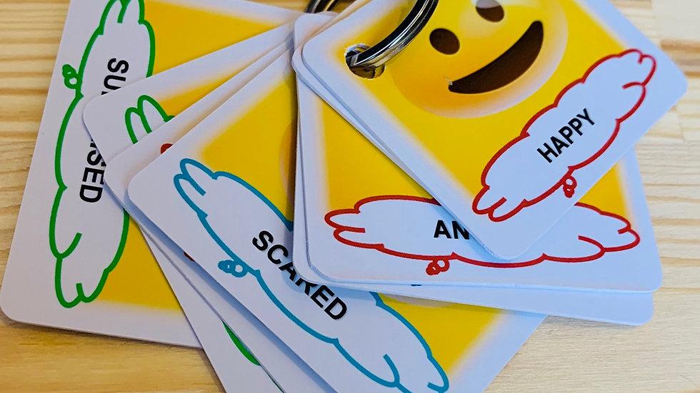 Emoji Emotions Key Fob