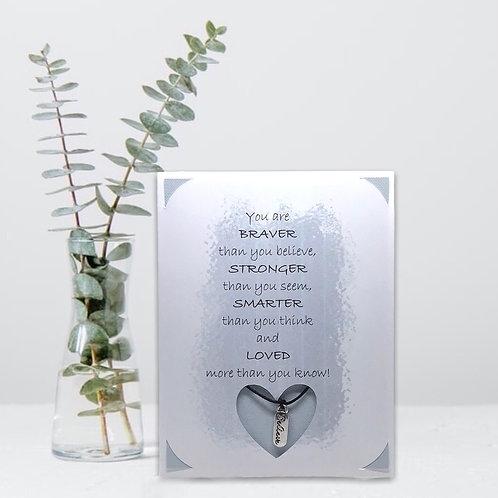 Wish Card ~ Believe 🙏