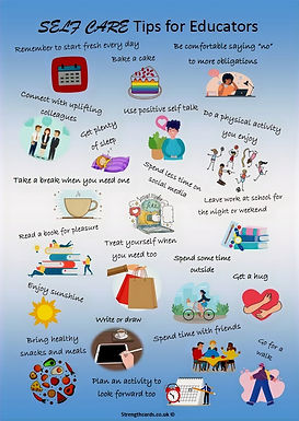 Self Care tips for Educators