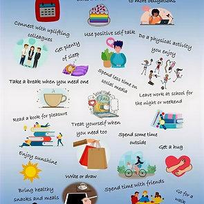 Self Care tips for Educators