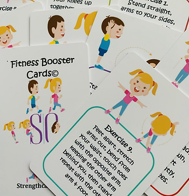 Fitness Booster Cards