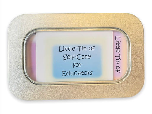 Little Tin of Self-Care Tips for Educators
