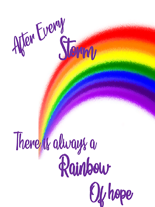 After every storm 🌈 ~ rainbow