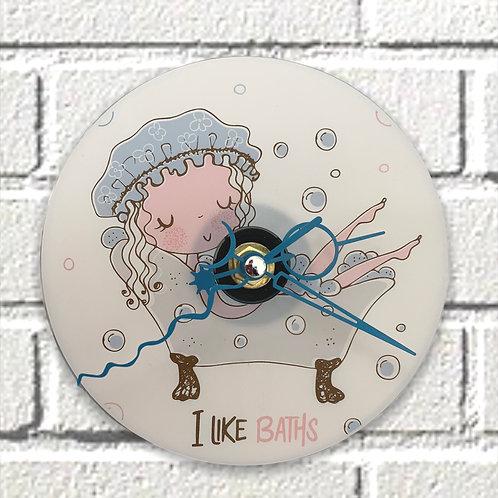 CD Clock ~ I Like Baths