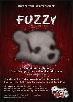 Fuzzy Poster Scart Art