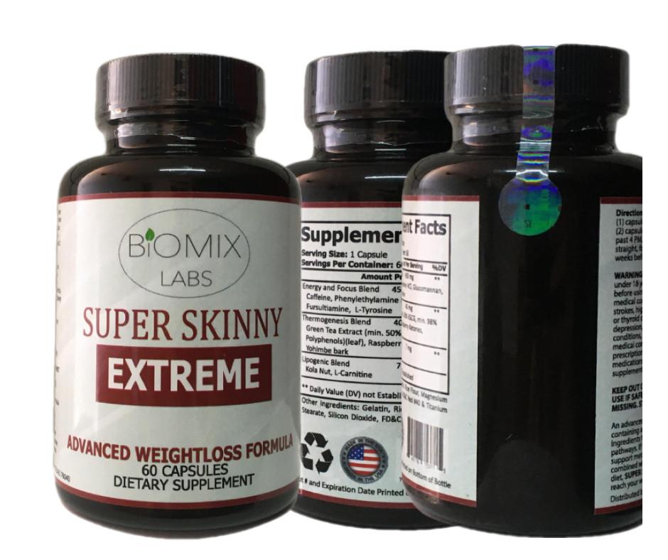 Super Skinny Extreme para 2 meses de Estados Unidos - Ecart