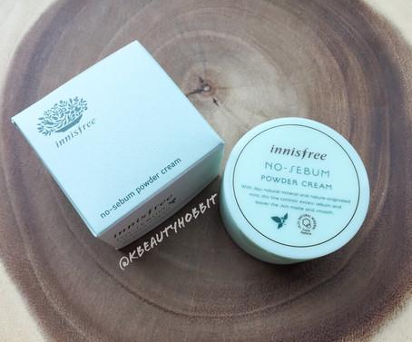 Innisfree No Sebum Powder Cream Review