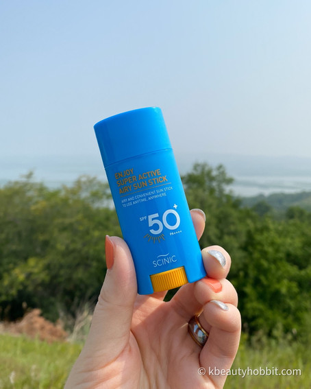 SCINIC - Enjoy Super Active Airy Sun Stick SPF50+ PA++++ Review