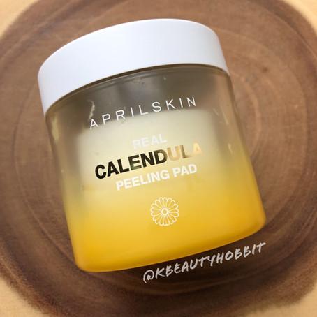 Aprilskin Real Calendula Peeling Pad Review