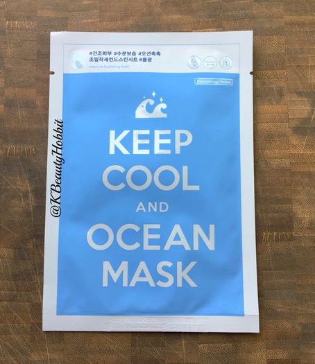 Adaline Keep Cool and Drink Ocean Sheet Mask Review