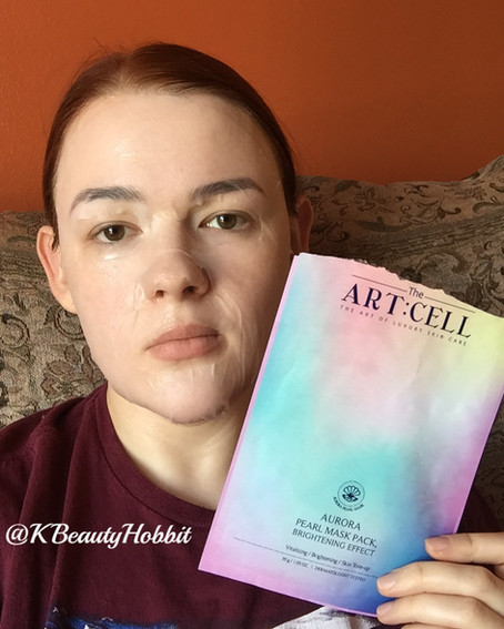 The Art:Cell Aurora Pearl Mask Review