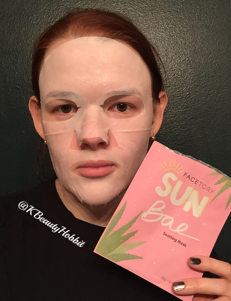 FaceTory Sun Bae Soothing Mask Review
