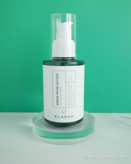 KLAVUU Green Pearlsation PHA Calming Serum Review