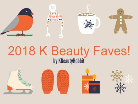 2018 Korean Beauty & Skincare Favorites