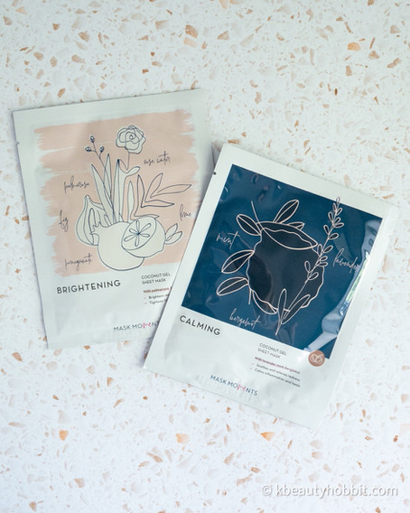 Mask Moments Coconut Gel Sheet Mask Review