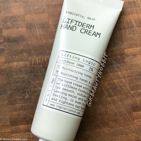 Logically Skin Liftderm Hand Cream Review