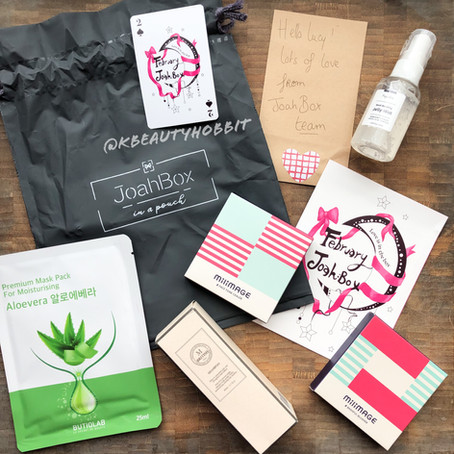 Joah Box - Korean Beauty Box Review