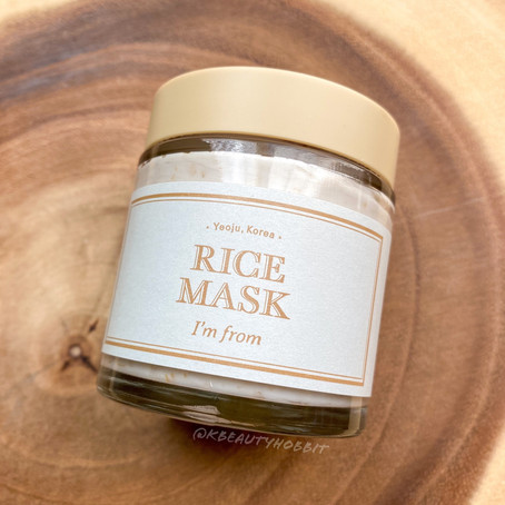 I'm From Rice Mask Review