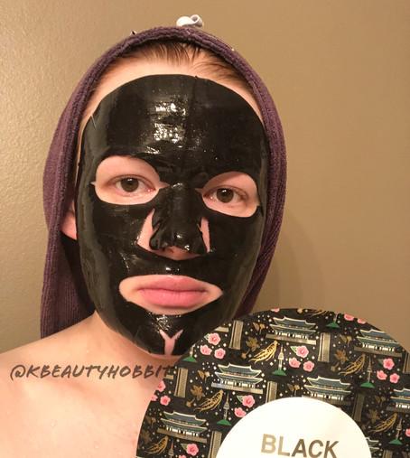 DearPacker Black Ginseng Gold Hydrogel Mask Review
