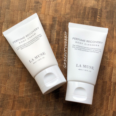 La Muse Perfume Recovery Body Cleanser & Body Cream Review