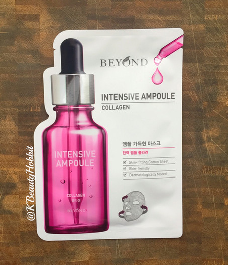 Beyond Intensive Ampoule Collagen Sheet Mask Review