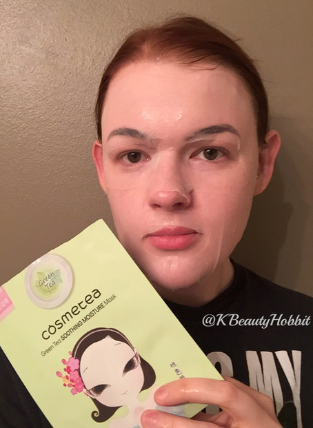 Cosmetea Green Tea Soothing Moisture Mask Review