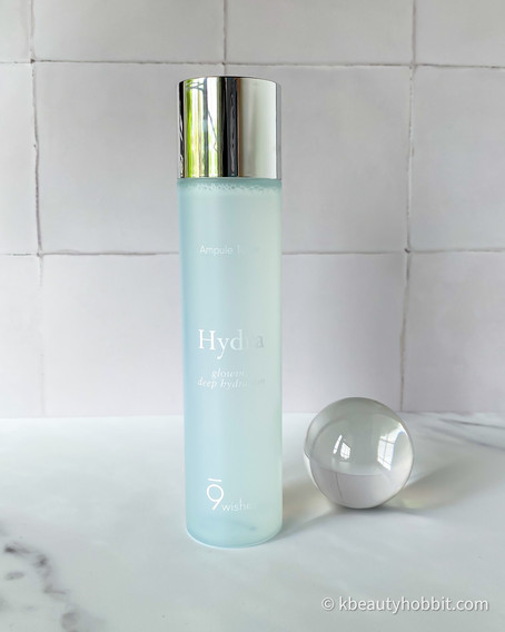 9WISHES Hydra Ampule Toner Review