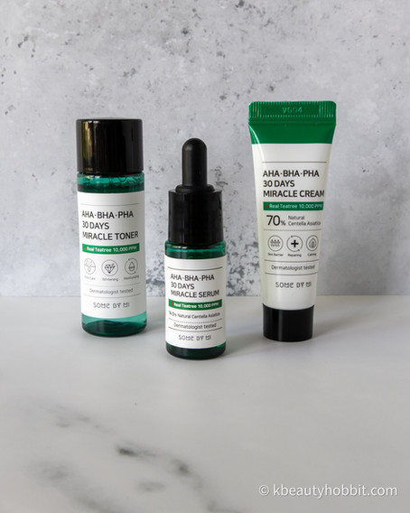 SOME BY MI AHA-BHA-PHA 30 Days Miracle Travel Kit Review