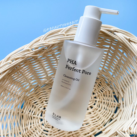 B_LAB PHA Perfect Pore Cleansing Oil Review